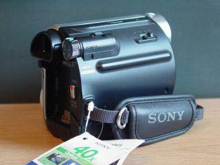 Sony Handycam DCR HC52 40x Zoom Nightshot Mini DV Camcorder Advanced