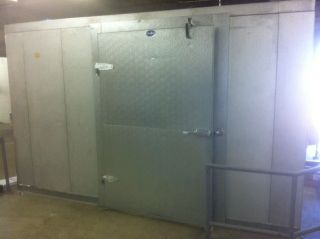 Harford Duracool 11 x 14 Walk in Cooler with 2 Doors Model OW483Y