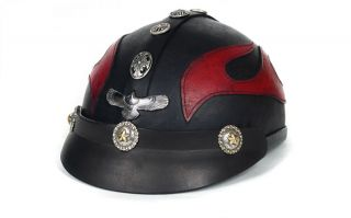 Motorcycle Harley Davidson Accessories Helmet Cowhide