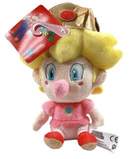 Authentic Brand New Global Holdings Super Mario Plush   5 Baby Peach