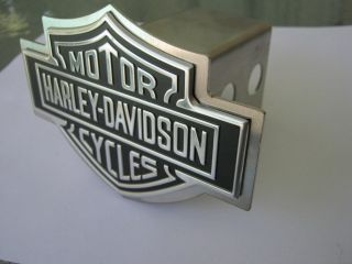Harley Davidson Emblem Hitch Cover Silver Color