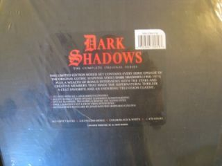 Dark Shadows The Complete Original Series (DVD, 2012, Deluxe Edition