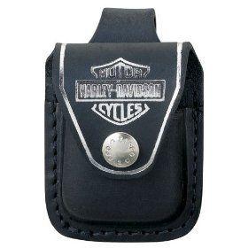 Zippo Harley Davidson Black Pouch Low Shipping HDPBK