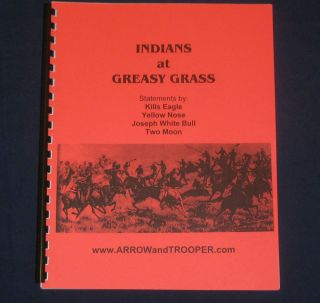 CUSTER 7th Cavalry INDIANS AT GREASY GRASS Indian Wars MILITARY