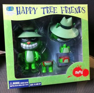 Happy Tree Friends Shifty Cut Up Box Set Stevenson Entertainment