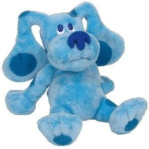 Ty Beanie Babies Blue Blues Glues Nick Jr TV 6 New