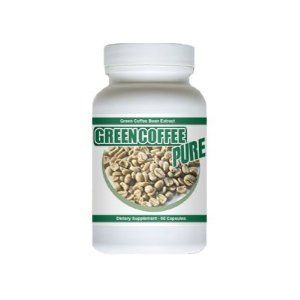 Nutrapure Pure Green Coffee Bean Extract 60 Capsules 500mg Lose Belly