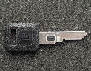 GM Buick Cadillac Chevrolet Oldsmobile Pontiac OEM Vats Key B62 Blank