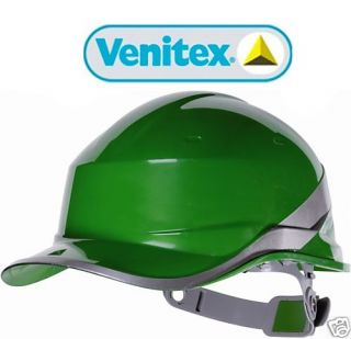 Green Venitex Construction Hard Hat Safety Helmet