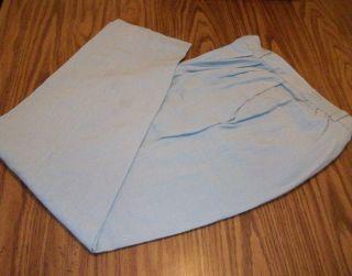 Womens Size 12 Sag Harbor Light Green Pants Polyester