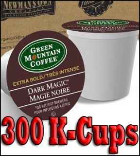 Green Mountain Coffee Dark Magic Extra Bold 300 K Cups Keurig Brewers