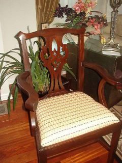 Henkel Harris Chippendale Model 101A Mahogany Arm Chair Excellent