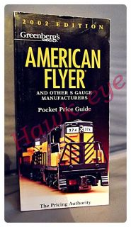 American Flyer Trains Greenberg 2002 Price Guide