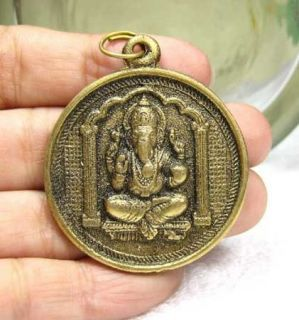 P951 Elephant GOD Ganesh Ganesha Shiva son Hindu auspicious amulet