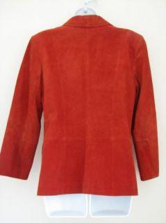 Margaret Godfrey Suede Jacket Lined Sz 10 WOW