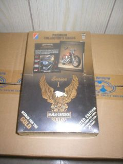Harley Davidson Series 1 Trading Card Box