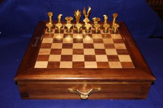 Harley Davidson Collectors Edition Chess Set