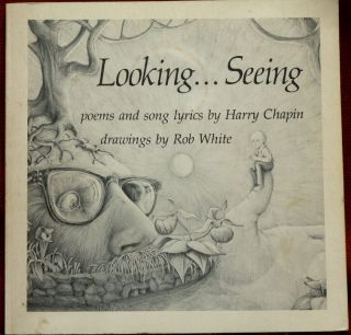 Harry Chapin Signed Book Looking Poetry Lyrics