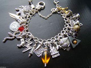 Handmade Charm Bracelet Suit Harry Potter Fan