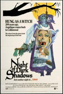 Night of Dark Shadows 1971 Original U s One Sheet Movie Poster
