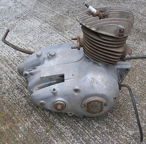 1956 Harley Davidson Motorcycle Hummer Engine 125cc Parts