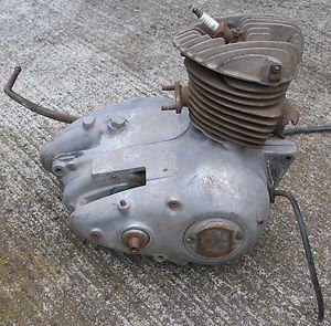 1956 Harley Davidson Motorcycle Hummer Engine 125cc Parts