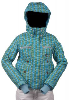 Special Blend Insulated Snowboard Jacket True Green Womens Large 2009