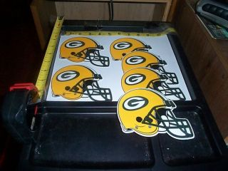 Large Helmet Stickers NFL Green Bay Packers
