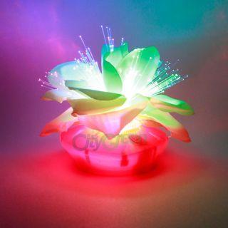 New Love Peonies Fiber Optic Flower Nightlight Night Light Lamp for