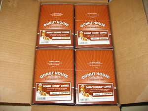 96 Keurig Donut House Coffee K Cups by Green Mountain