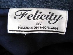 HARRISON MORGAN VTG NEW WESTERN STY. FELICITY JEAN JACKET~M/L~BEADED