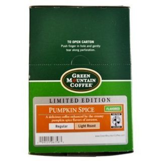 Keurig Green Mountain Coffee 24 K Cups Pumpkin Spice Limited Edition