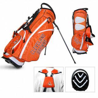 Licensed NFL Cleveland Browns Team Golf Stand Bag