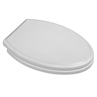 Bemis Elongated Closed Front Toilet Seat with Easy Clean and Change