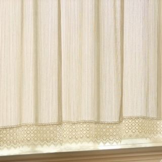Sweet Jojo Designs Sheer White Set of 2 Window Panels   Panel Sheer