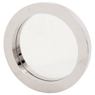 Ren Wil Beveled Rectangular Mirror in Soldered Satin Nickel