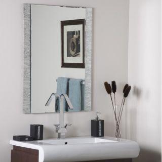 Decor Wonderland Frameless Molten Wall Mirror   SSM5039