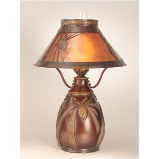 Dale Tiffany Strada Crystal Table Lamp in Antique Brass   GT701218