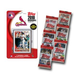 Topps MLB 2010 Team Set with Packs Trading Cards   St. Louis Cardinals