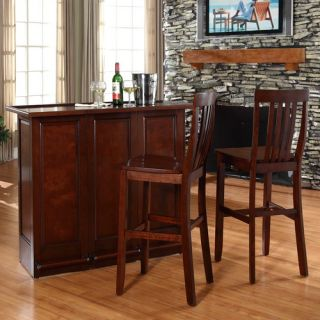 Home Styles Steamer Folding Bar & Optional Stools   5691 99 / 5123