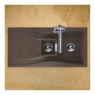 Schock Houzer Arco Series Dual Mount 70/30 Double Bowl Sink   ARCO N