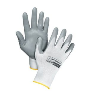 Perfect Fit White Pure Fit™ 13 Cut Light Weight Gray Foamed Nitrile