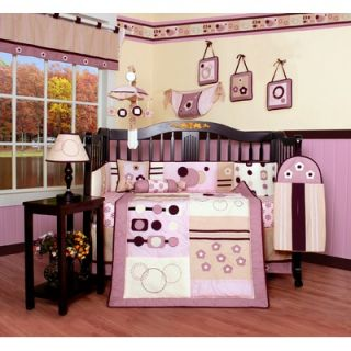 Geenny Boutique Baby Girl Artist 13 Piece Crib Bedding Set   CRIB CF