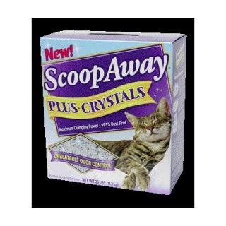 Scoop Away Plus Crystals Cat Litter (25 lbs)