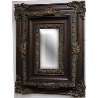 Imagination Mirrors Romances Dreams Wall Mirror in Dark Gold