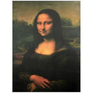 Oriental Furniture Mona Lisa Canvas Wall Art   23.5 x 31.5