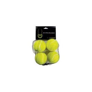 Hyper Products Mini Replacement Tennis Balls for Hyper Dog Toys (4