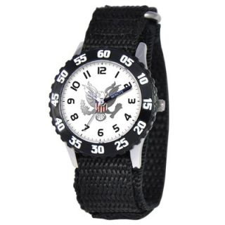 EWatchFactory Kids Military Army Time Teacher Watch in Black