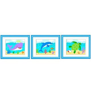 Olive Kids Ocean Framed Art (Set of 3)   FB 0CEA 308