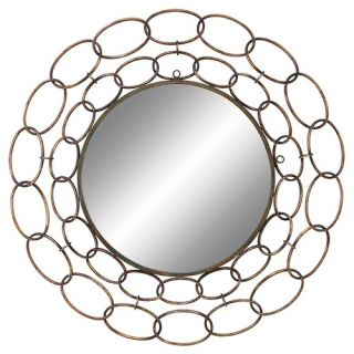 36 Large Chain Wall Mirror